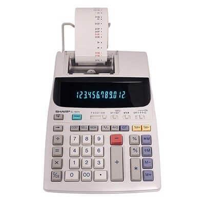 calcolatrice scrivente Sharp