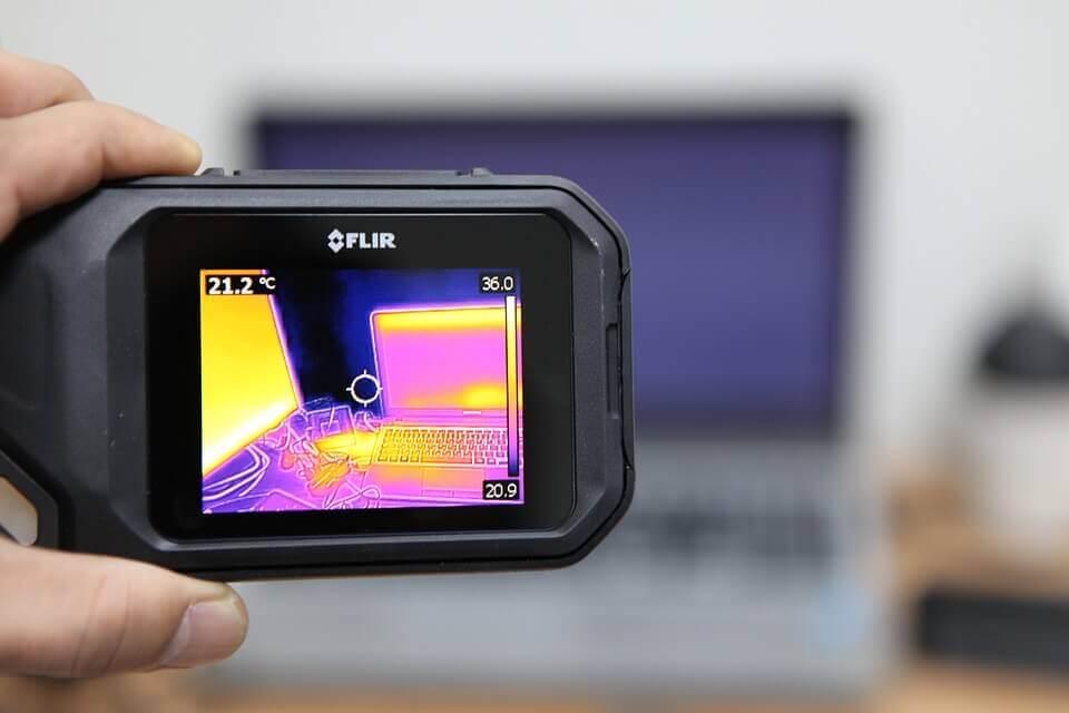 scegliere la fotocamera termica